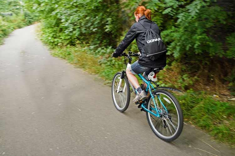 Biking In Summer