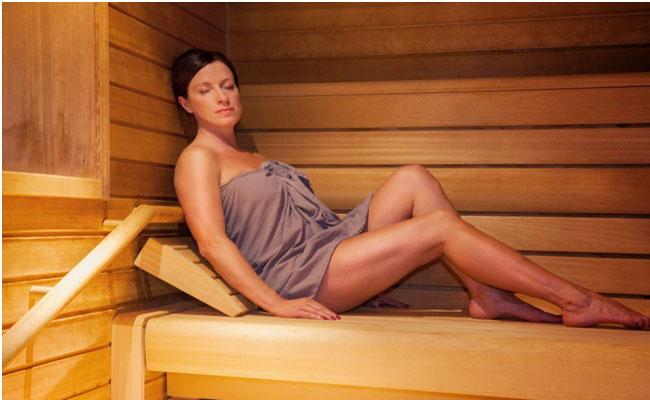 hot saunas