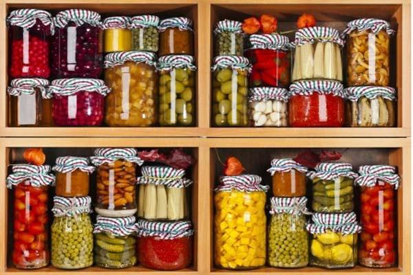 stockpile cans