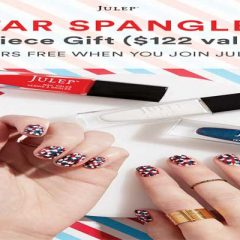 4th of July Nail Designs + Free Gift from Julep!