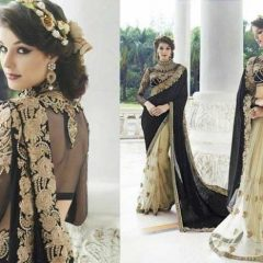 Dazzle into the Spot light with Hot Party Wear Sarees