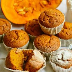 Tasty Apple Pumpkin Muffins