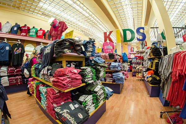 buying clothes for child