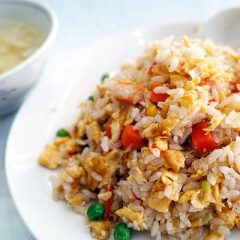 Easy Garlic Rice Pilaf Recipe