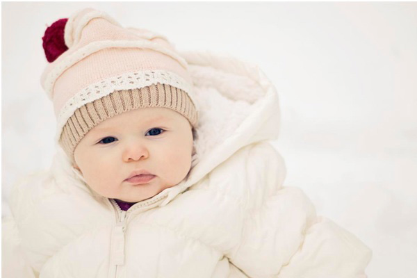 keep baby warm in winter